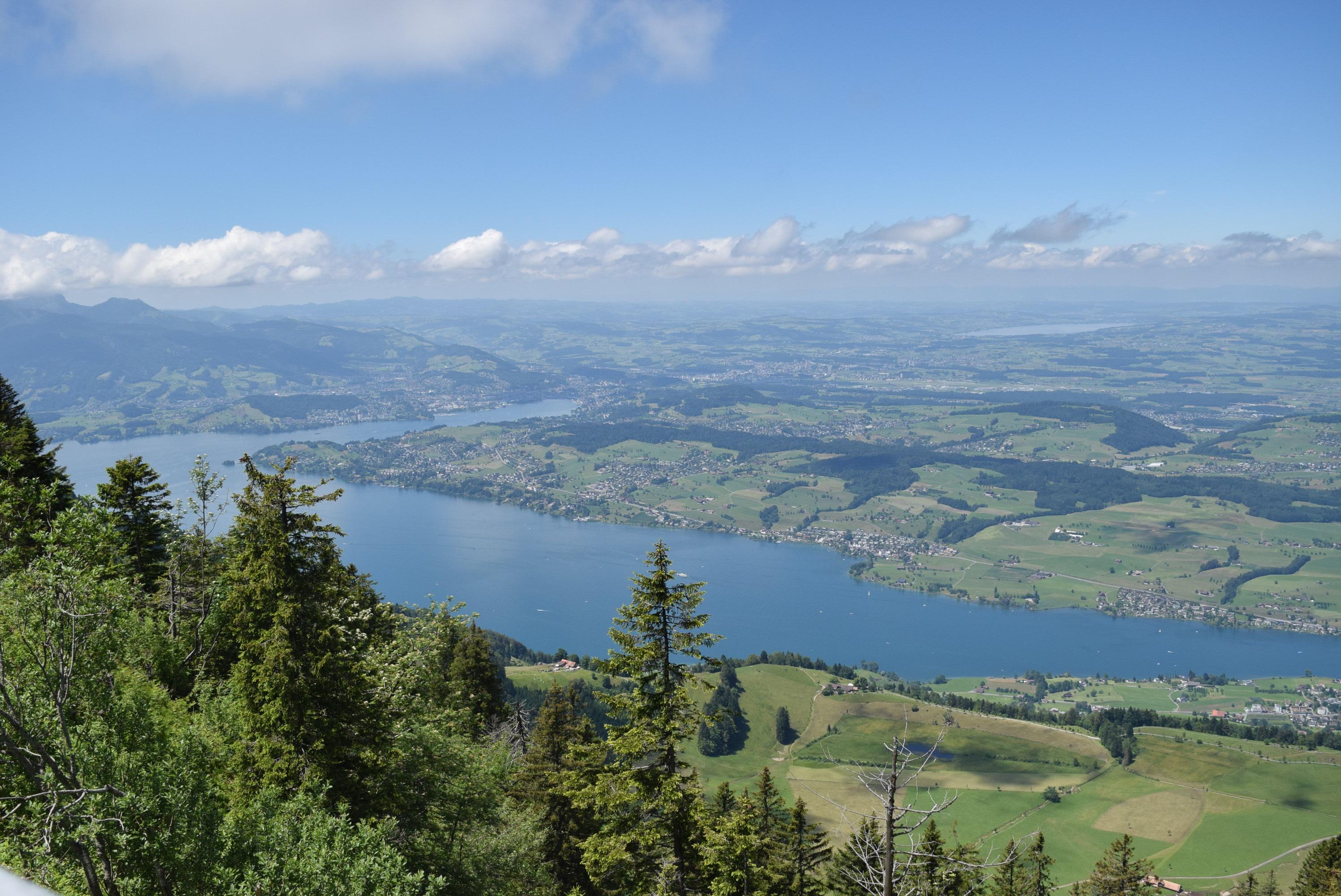 Monte Rigi, um espetáculo de paisagem no coração da Suíça