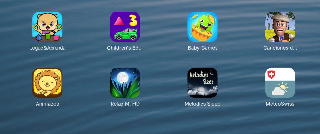 Apps infantis