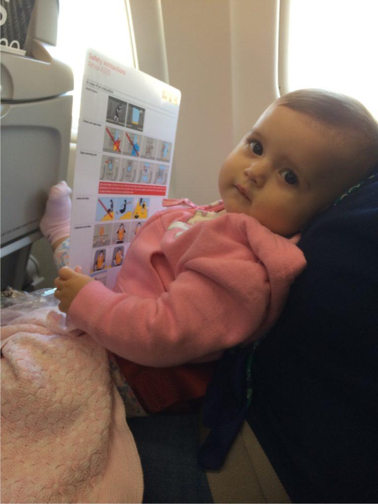 voo com bebês