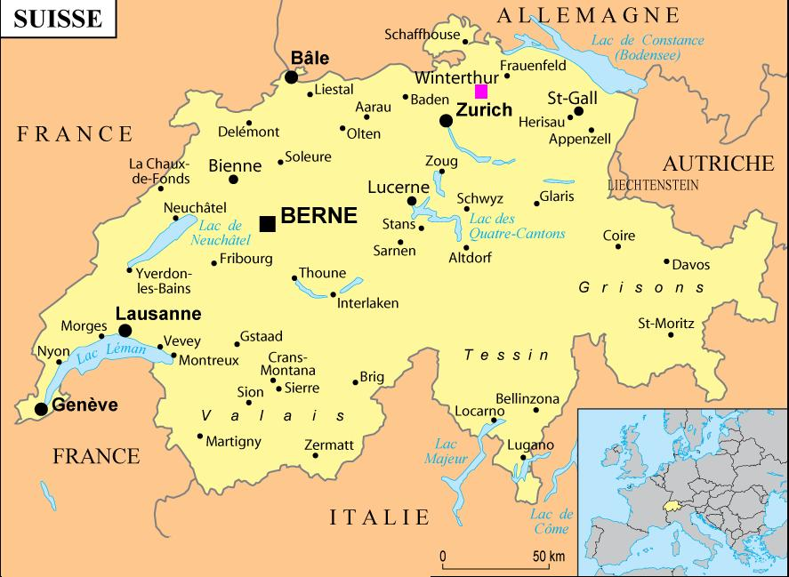 mapa suica Mapa da Suíça   Viagens de Mãe mapa suica